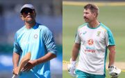 Rahul Dravid and David Warner
