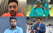 Rashid Khan, Usman Khawaja, Ravichandran Ashwin, and Sanjay Manjrekar