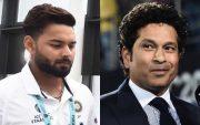 Rishabh Pant and Sachin Tendulkar