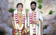 Rohit Damodharan and Aishwarya