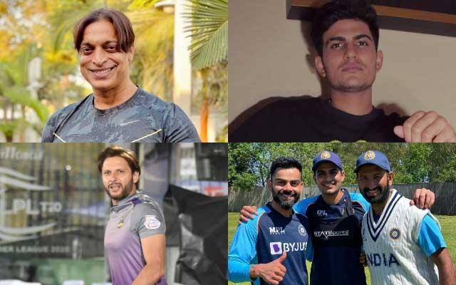 Shoaib Akhtar, Shubman Gill, Shahid Afridi & Virat Kohli