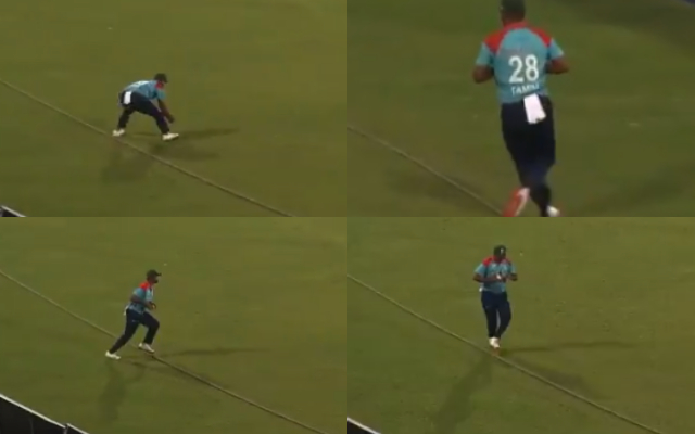 Tamim Iqbal fielding