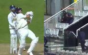 Tim Southee batting
