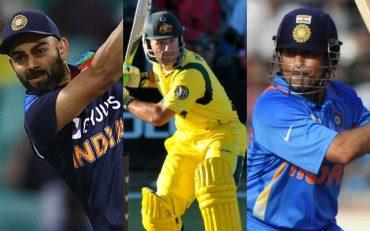 Virat Kohli, Ricky Ponting, Sachin Tendulkar