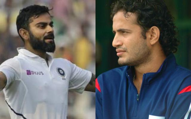 Virat Kohli and Irfan Pathan