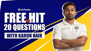 Laziest Person in KKR camp? The best thing about Rahul Dravid? | Freehit with Karun Nair | Ep-14
