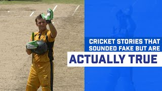 Cricket Facts That Sound Fake But Are Actually True | Best Cricket Stories