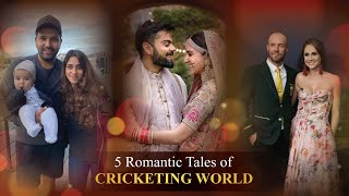 5 Romantic Love Stories of Cricketers   Beautiful Love Stories of Star Cricketers From ABD to MSD