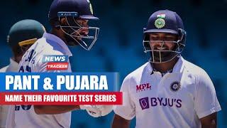 Rishabh Pant And Cheteshwar Pujara Named Their Favorite Test Series So Far For Team India