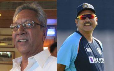 Anshuman Gaekwad and Ravi Shastri