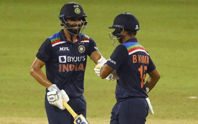 Deepak Chahar and Bhuvneshwar Kumar