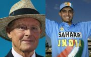 Geoffrey Boycott and Sourav Ganguly