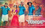 Harbhajan Singh's Friendship poster