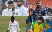 Hardik Pandya, Virat Kohli, Jasprit Bumrah, Mitchell Starc