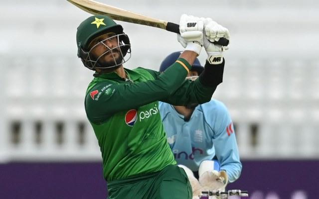 Hasan Ali batting