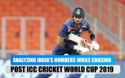 Analyzing India's numbers while chasing ahead of the upcoming ODIs against SriLanka