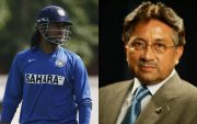 MS Dhoni and Pervez Musharraf