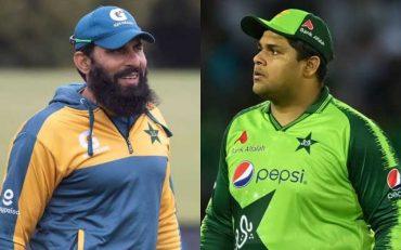 Misbah-ul-Haq and Azam Khan