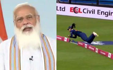 Narendra Modi and Harleen Deol