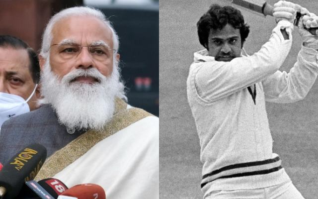 Narendra Modi and Yashpal Sharma