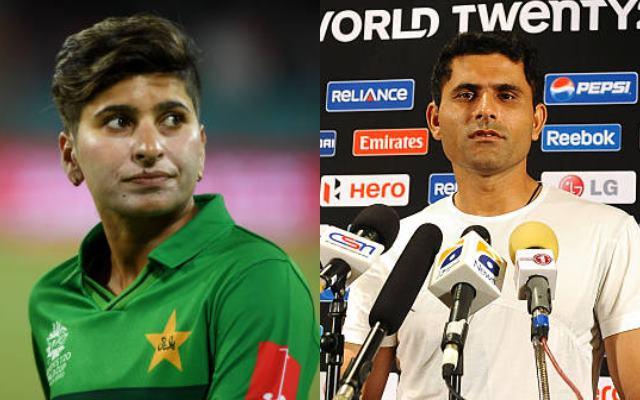 Nida Dar and Abdul Razzaq