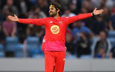 Welsh Fire bowler Qais Ahmad