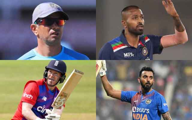 Rahul Dravid, Hardik Pandya, Eoin Morgan, KL Rahul