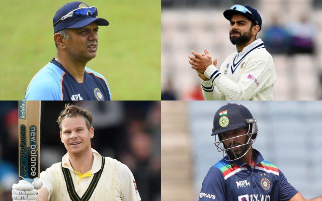 Rahul Dravid, Virat Kohli, Steve Smith, Shikhar Dhawan
