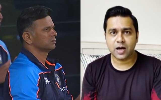 Rahul Dravid and Aakash Chopra