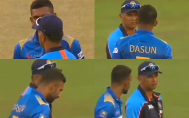 Rahul Dravid and Dasun Shanaka
