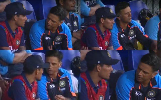 Rahul Dravid and Rahul Chahar