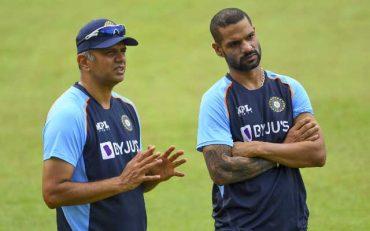 Rahul Dravid and Shikhar Dhawan