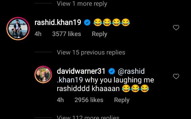 Rashid Khan comment
