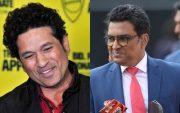 Sachin Tendulkar and Sanjay Manjrekar