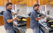Sachin Tendulkar cooking