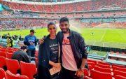 Sanjana Ganesan and Jasprit Bumrah