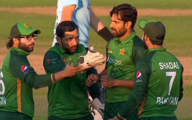 Shadab Khan and Sarfaraz Ahmed