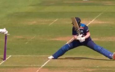 Shafali Verma wicket