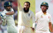 Shikhar Dhawan, Adil Rashid and Aaron Finch