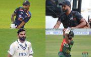 Shikhar Dhawan, Suresh Raina, Virat Kohli, Tamim Iqbal