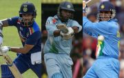 Shikhar Dhawan, Yuvraj Singh and Sourav Ganguly