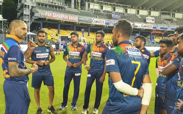 Shikhar Dhawan and Sri Lankan Cricket Team