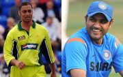 Shoaib Akhtar and Virender Sehwag