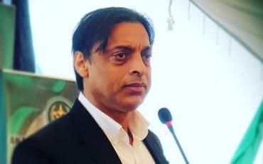 Shoaib Akhtar speaking