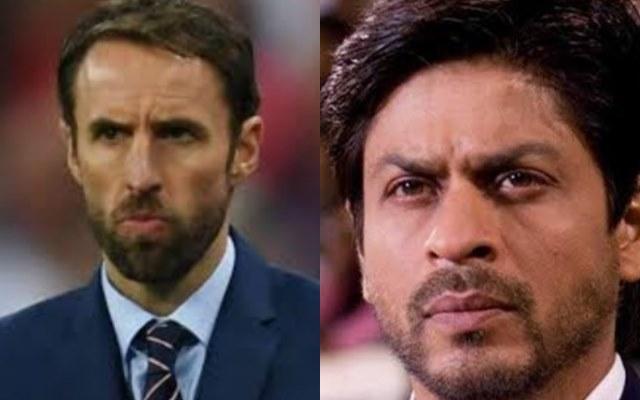 Southgate and Shah Rukh Khan