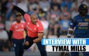 English Cricketer Tymal Mills