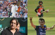 Virat Kohli, Mushfiqur Rahim, Shoaib Akhtar, Yuzvendra Chahal