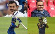 Virat Kohli, Virender Sehwag, Prithvi Shaw, Suryakumar Yadav