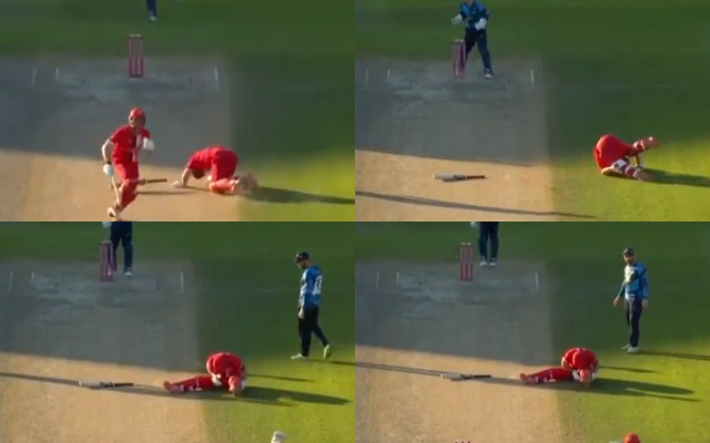Yorkshire's act of sportsmanship