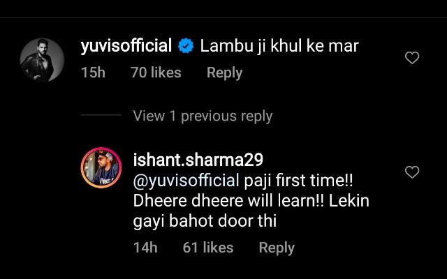 Yuvraj Singh comment